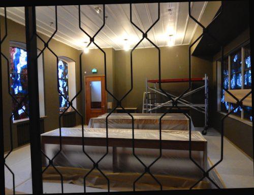 Visitors' Chapel Repainted