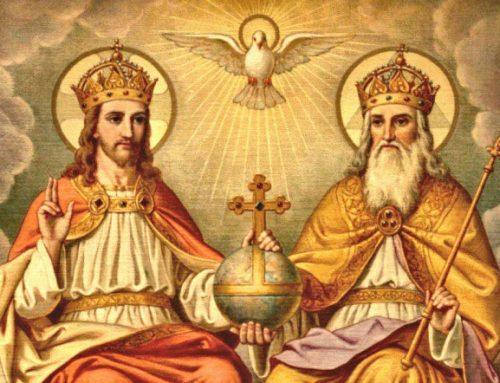 Solemnity of the Most Blessed Trinity