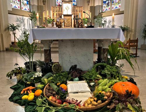 """Erntedankfest"" (Harvest Thanksgiving festival)"