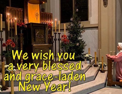 Blessed New Year 2021!